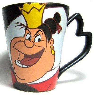 Queen of Hearts Disney Villains coffee mug