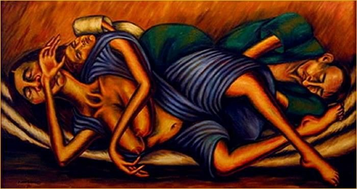 Los mendigos - Débora Arango