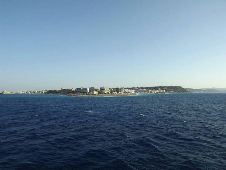 #sunny #October 29°C !!!! Sweet #Autumn...   #Rhodes #Rodos #Greece