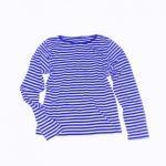 Dámská trička Dámské tričko s dlouhým rukávem modrý námořník