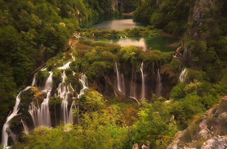 Plitvice Lakes National Park, Croatia. amazing & awesome nature view. like our page, also invite your friends to like our page & share posts. http://pinterest.com/travelfoxcom/pins/