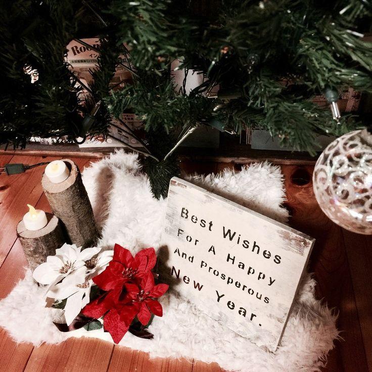 雪のようなクリスマスツリースカートを作ろう♪