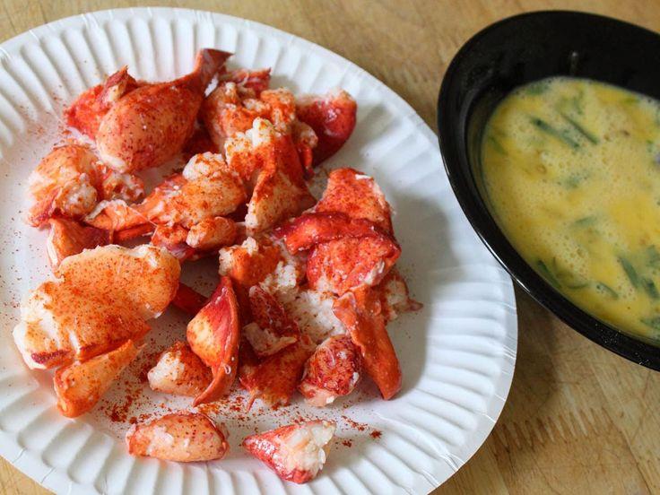 Lobster Scrambled Eggs Recipe - Leftover Lobster Recipe