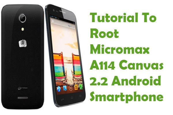 Find out the tutorial with step by step instructions to root Micromax A114 Canvas 2.2 Android smartphone using iRoot Rooting software.