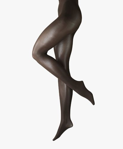 Seidenglatt er en elegant tights med en svak glans for en silkemyk følelse på huden din. Disse er allsidige, egnet for jobb, hverdag eller fest.    S - XL. 70 den.