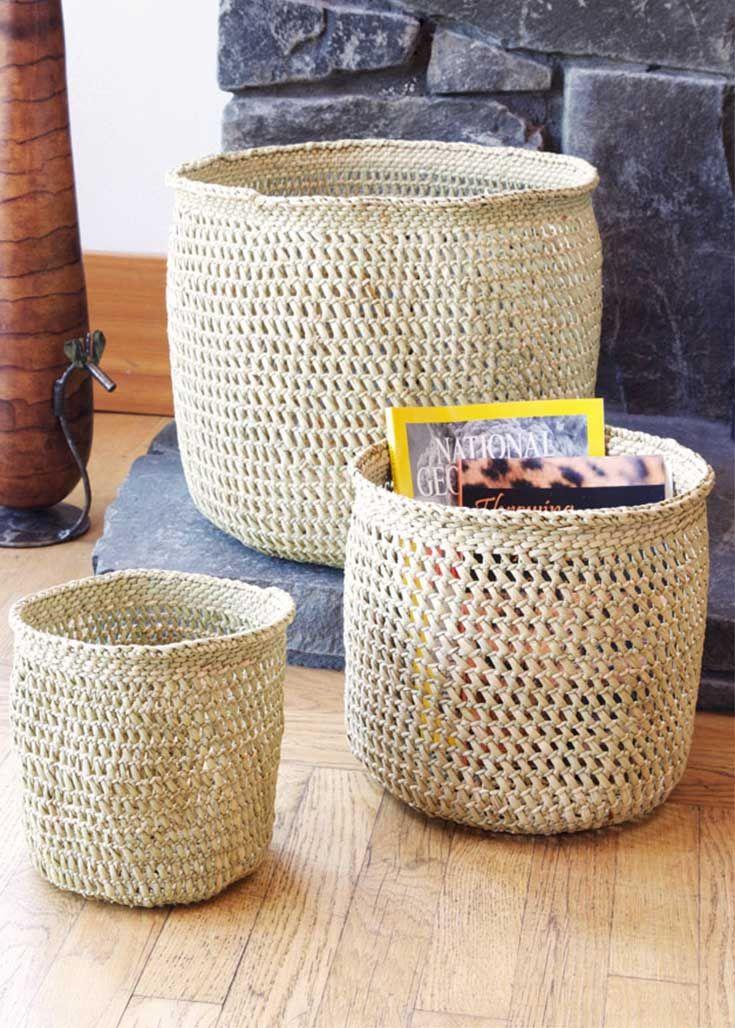 Handmade Baskets From Africa : Best african baskets senegal handmade