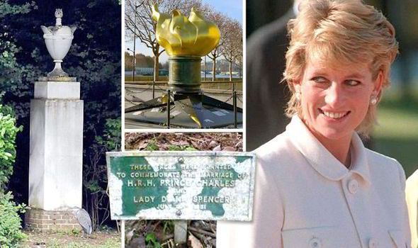 Princess Diana Memorial Althorp | ... years after her death, shocking state of Diana memorials revealed