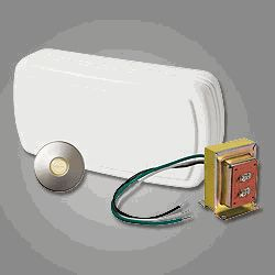 The Features One Two Note Wired Door Chime, One Stucco Lighted Pushbutton,  And A Transformer. A Good, Solid One Pushbutton Door Chime Kit For A Stucco  ...