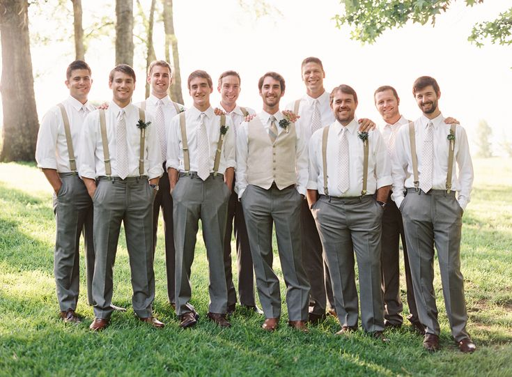 wedding ideas for groomsmen attire mike and gentry s backyard wedding best wedding 28137