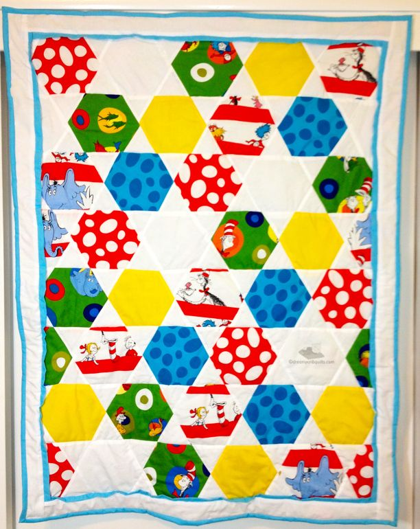 80 best dr seuss quilts images on Pinterest   Baby art crafts ... : cat in the hat quilt kit - Adamdwight.com