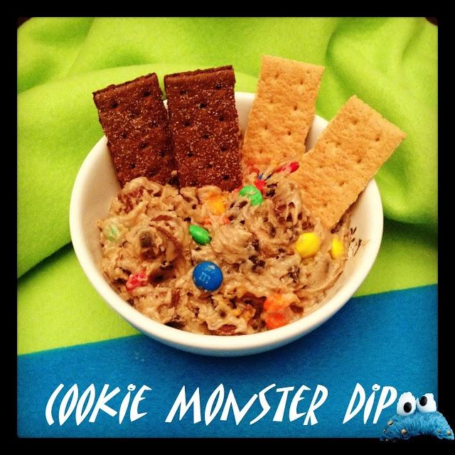 Cookie Monster Dip