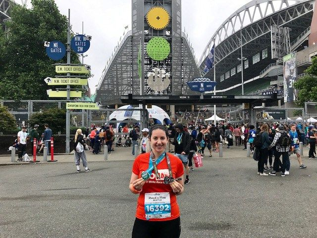 My experience at the Rock 'n' Roll Seattle half marathon in 2017
