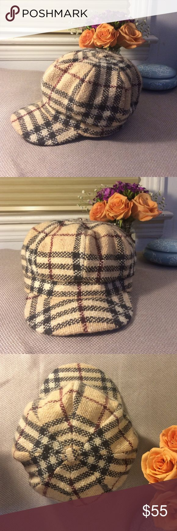 Burberry cap for women. Never worn and in excellent condition. Burberry Accessories Hats