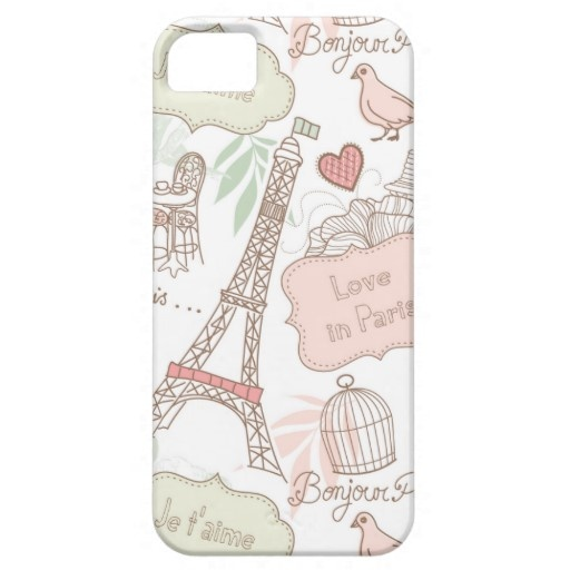 With Love From Paris iPhone 5 cover $46.70