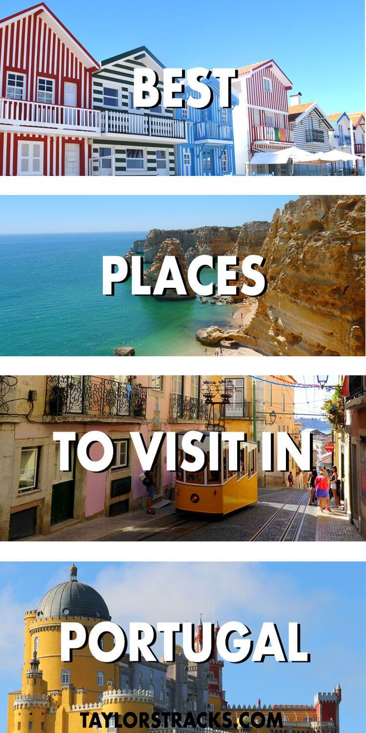 One of Lonely Planets top 10 countries to visit in 2018 is Portugal and it sure doesn't disappoint! These destinations throughout the country will make your jaw drop. #portugal #europe ***** Portugal travel | Portugal beaches | Portugal destinations | Portugal Lisbon | Portugal Porto | Portugal Aveiro | Where to go in Portugal | Portugal top places | Portugal top 10 | Portugal top cities