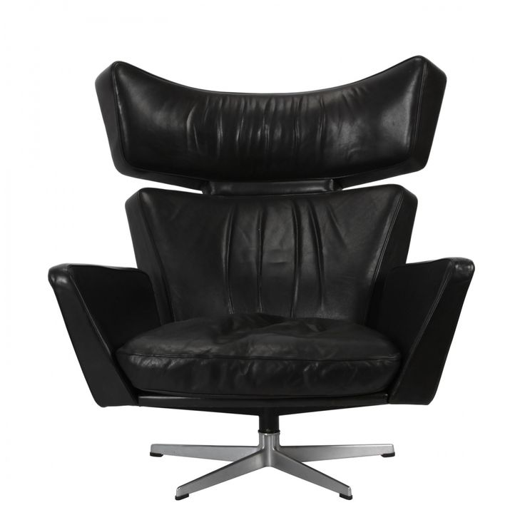 """This piece is known as """"The Ox"""" chair which was produced in 1966. I don't really like this one as much as the other chairs, I think it's because of how boxy it is. It feels more masculine to me and something found in an office."""