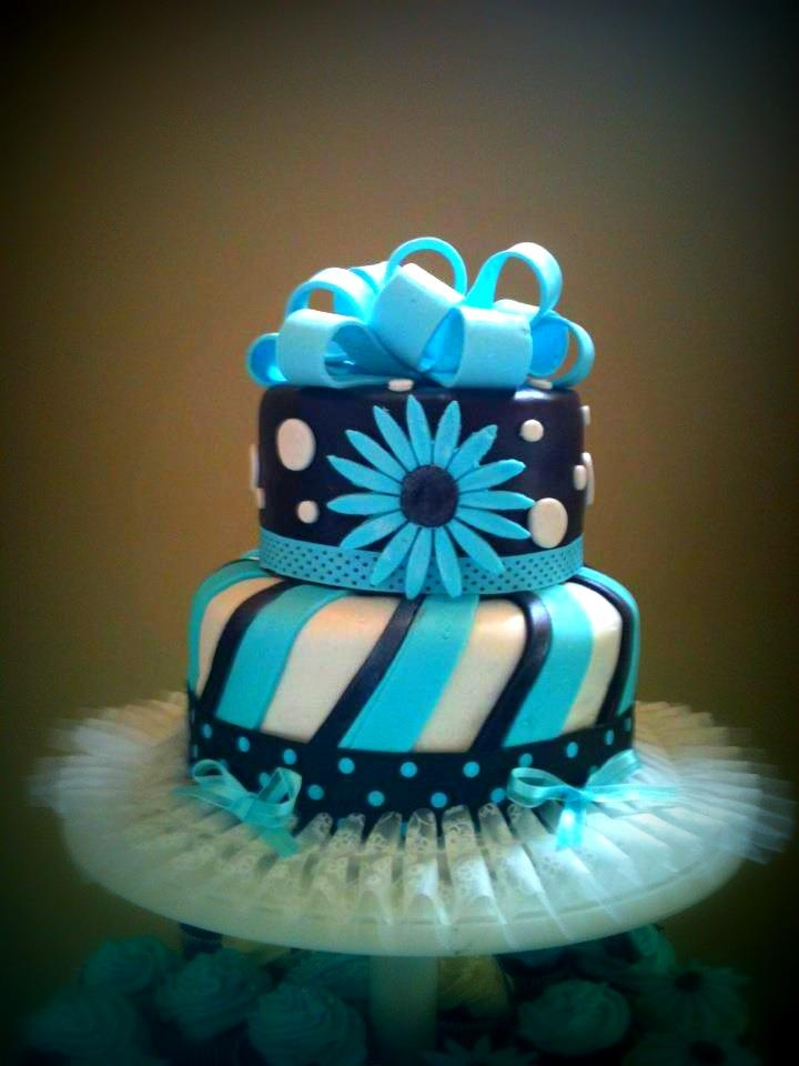 Wedding Cake Tiffany Blue and Brown: Cakes Tiffany, Cakes Cupcakes, Weddingshow Cakes, Wedding Show Cakes, Wedding Cakes