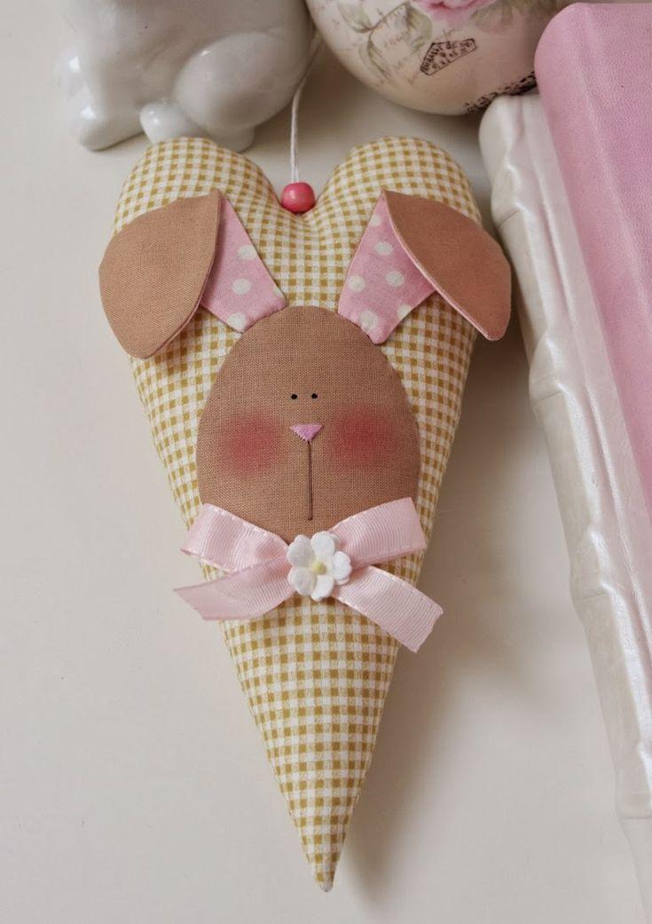 Corazones conejito para la llegada de la Pascua - Vicky und Ricky: Bunny-Hearts for coming Easter