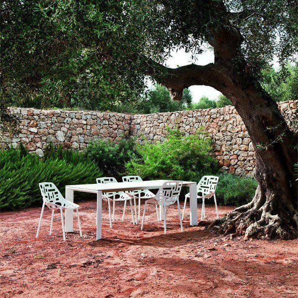 Table Rectangulaire Avec Rallonge Grande Arche Sans Rallonge Jardin Fast JardinChic