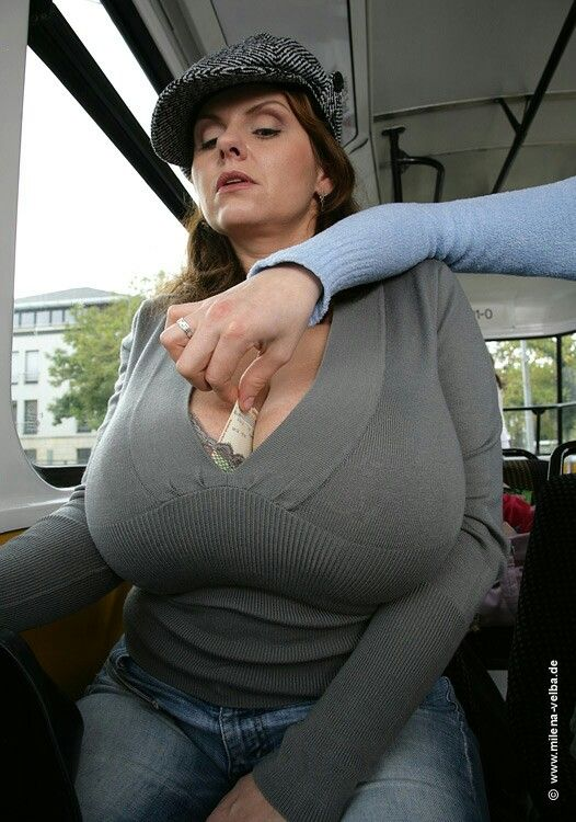 Apologise, can milena velba huge boobs on bus videos