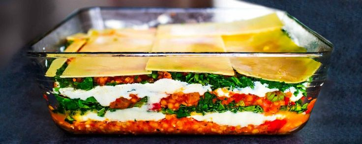 You have to make this recipe. My family and I were all stunned how good it tastes. It's light but satisfying –minus the trillion calories that come with traditional lasagne. And absolutely perfect for a large family meal, a dinner party or the week's meal-prep: it freezes well and can be divi