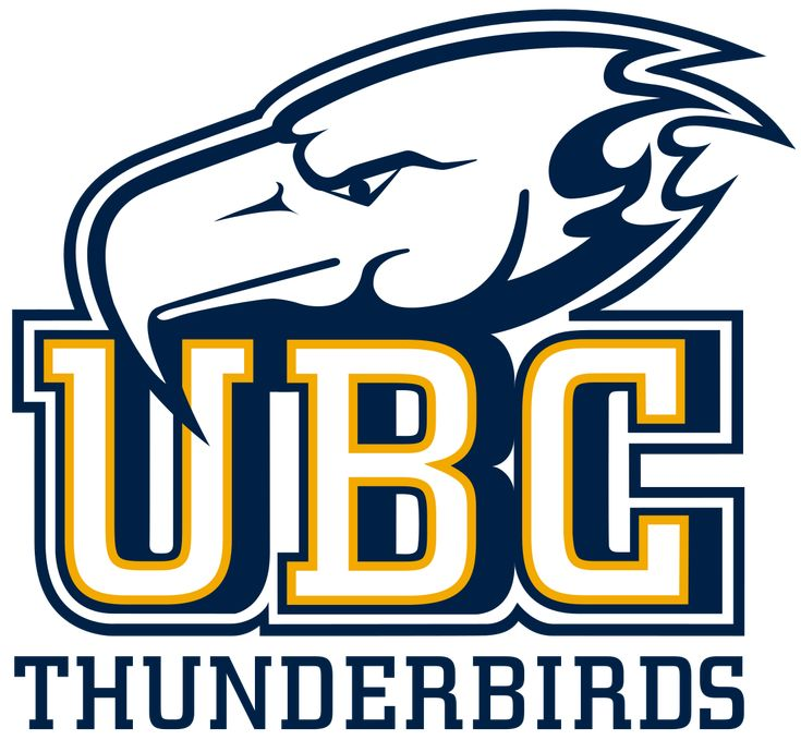 Thunderbirds, University of British Columbia (Vancouver, British Columbia), Association of Independent Institutions #Thunderbirds #Vancouver #NAIA (L11545)