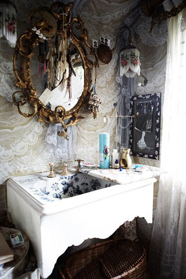 Boho style HobbyLobby has very inexpensive very ornate frames you can  paint..then go to Automotive gass replacement and your mirror will onlybe five or ten dollars cut to size! A fraction of the cost..!