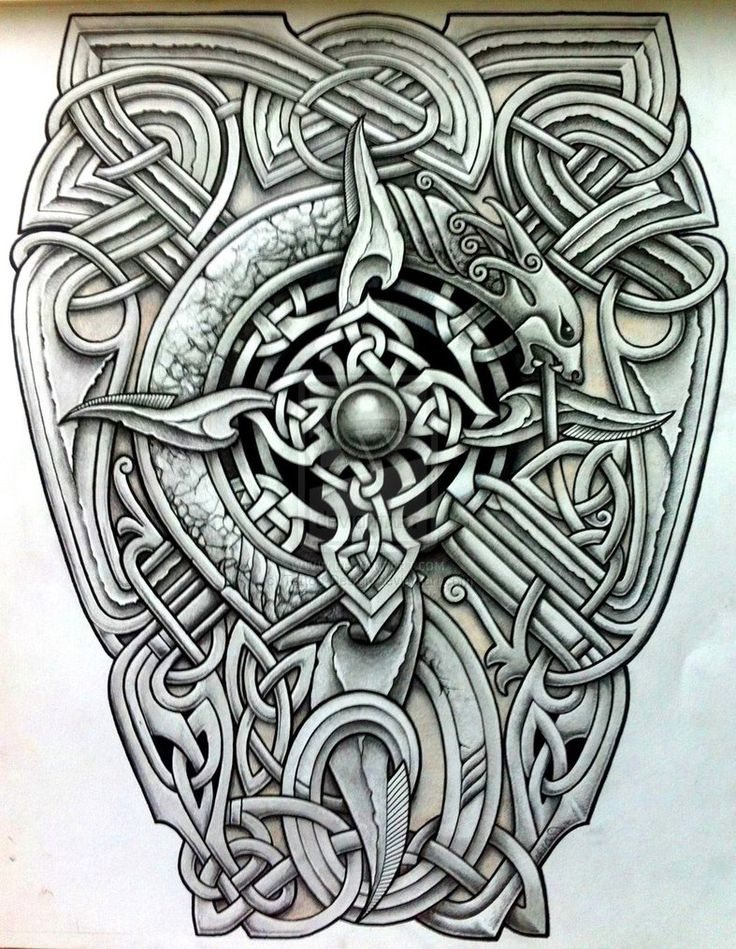 viking Tattoo-Design