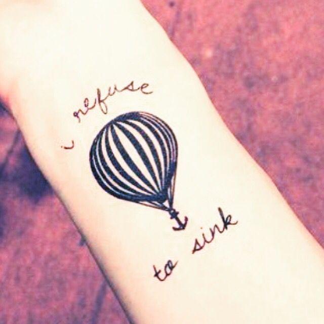 Molto Oltre 25 fantastiche idee su Mongolfiera tattoo su Pinterest  ZD76