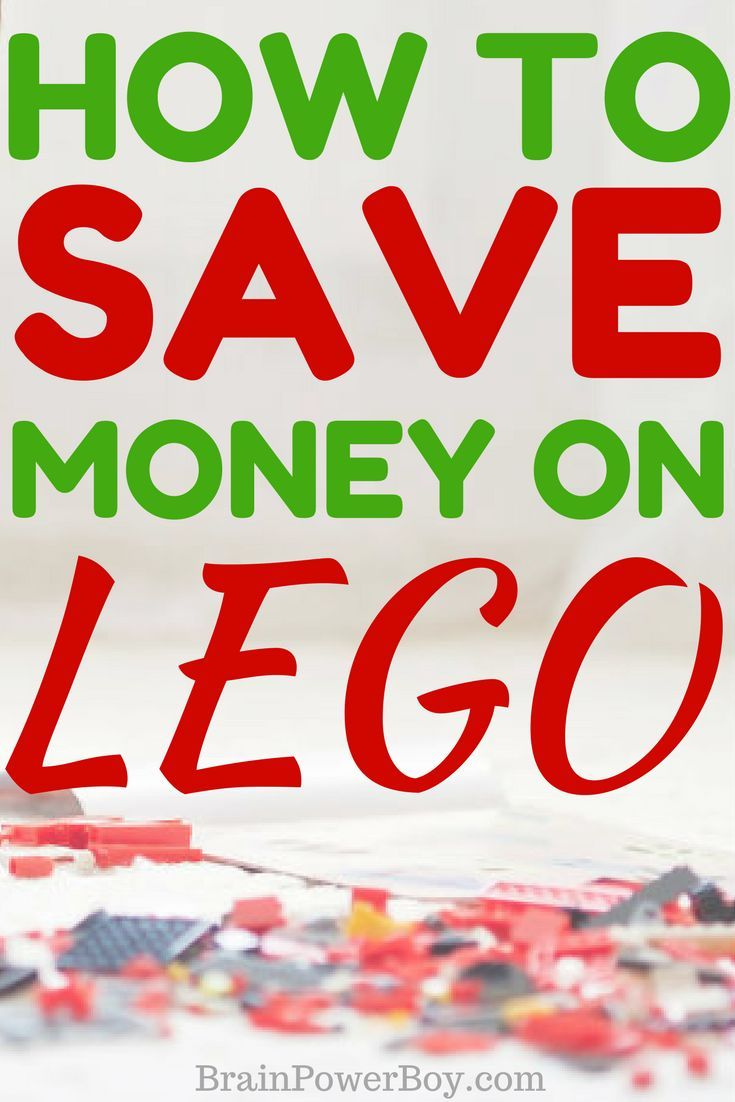 The very BEST ways to save money on #LEGO bricks and LEGO sets. Where to shop, plus strategies, tips and tricks so you can get an awesome deal!! #savemoney #shopping #toys