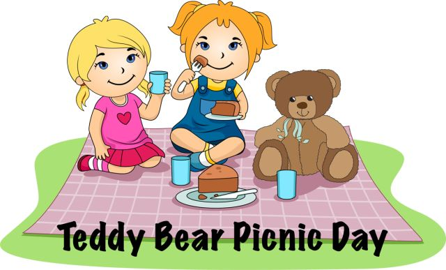 Take Your Teddy Bear On A Picnic Clipart Picnic Teddy Bear