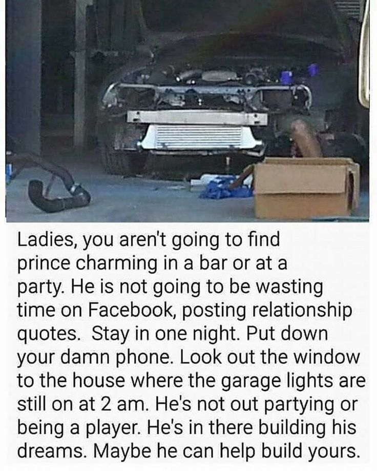 Rules For Dating A Car Guy