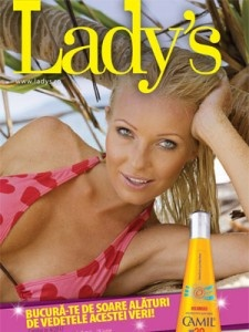 Catalogul Ladys cosmetice nr. 4 pe 2012.