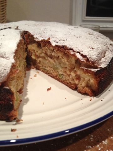 Delia Smith Chunky Apple Cake
