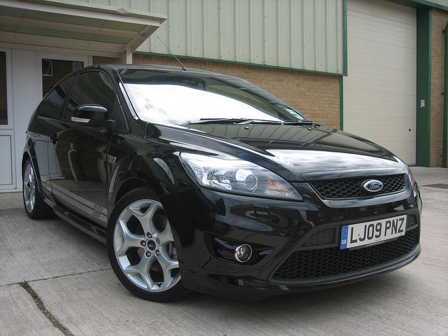 2009 ford focus st 3 panther black by steve coulter performance cars buying - Ford Focus 2009 Black