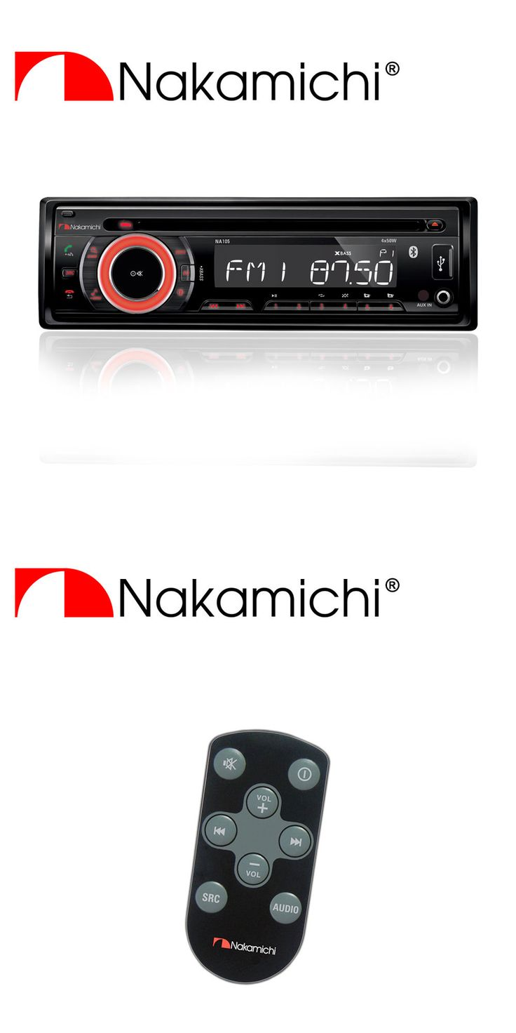 Car Audio In-Dash Units: New Nakamichi Am Fm Cd Mp3 Wma Receiver With Bluetooth Na105 -> BUY IT NOW ONLY: $74.95 on eBay!