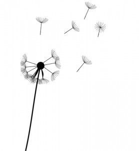 Meaning behind dandelion tattoo