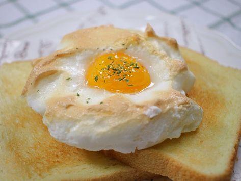 이효리도, 아이유도 반한 구름같은 달걀빵 '클라우드 에그' 만들기