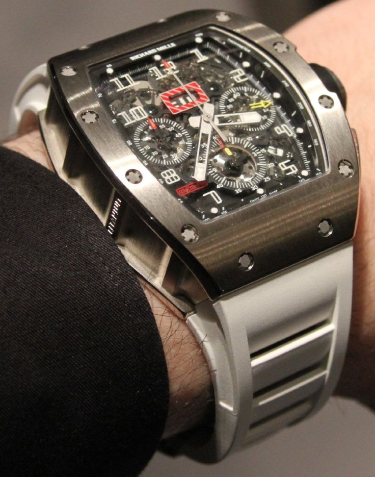 Richard Mille RM011 watches (Photos) - Luxist