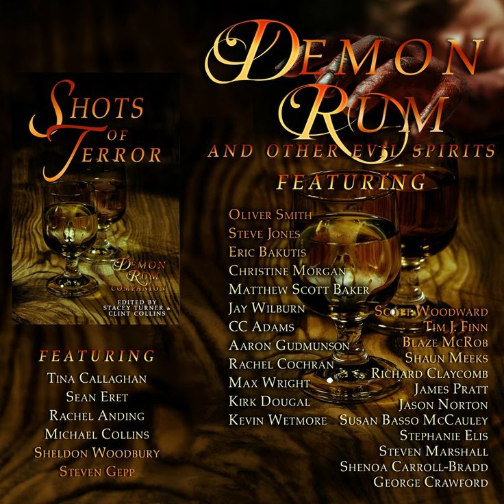 Out very soon from Angelic Knight Press, Demon Rum and other Evil Spirits. This one will feature my very twisted story The Olive Branch