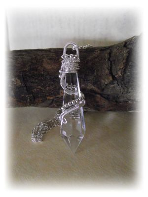Wire Wrapped Vintage Wire Dowsing Pendulum by BrighidsJewellery, £16.99