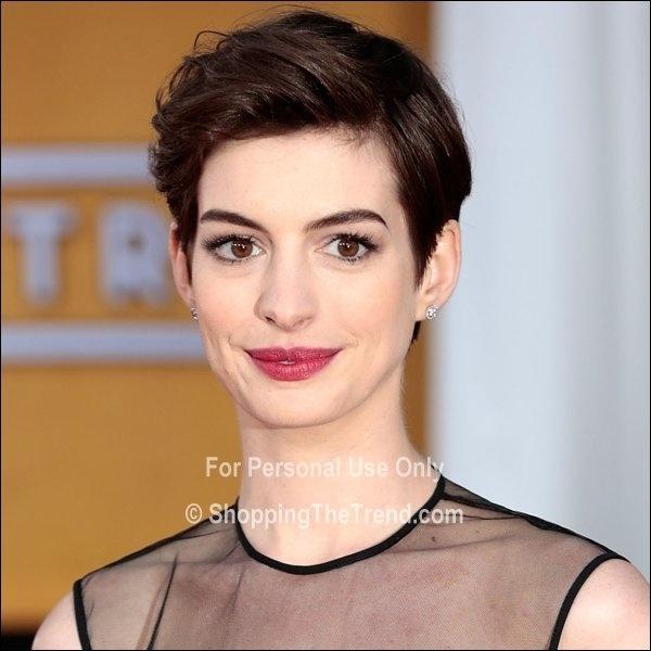 Anne Hathaway Short Hair: 25+ Best Ideas About Anne Hathaway Haircut On Pinterest