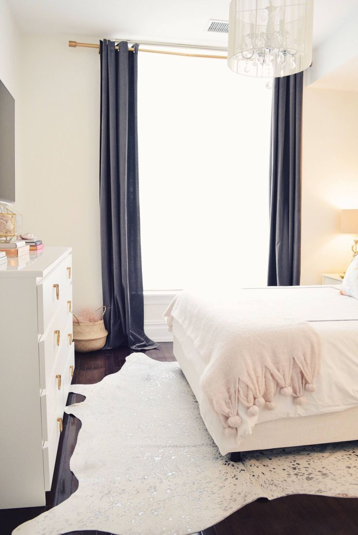 Spring Bedroom Tour with Rugs USA's Serendipity Devour Cowhide Rug!