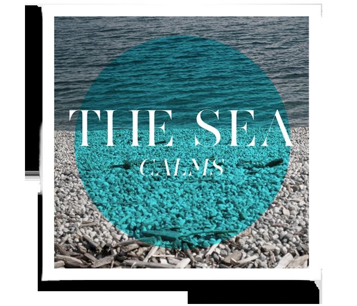 the sea calms: Original Typography, Words Art, Photography Art, Thesea Features, Living, Photography Words, Sea Calm, Sea Dreams, The Sea