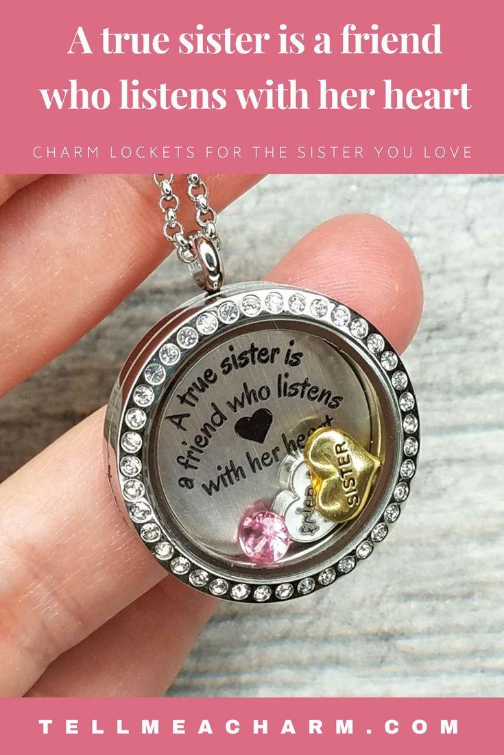 personalised pink initial niece grand daughter big sister mum necklace n box