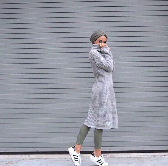 Sporty hijab style