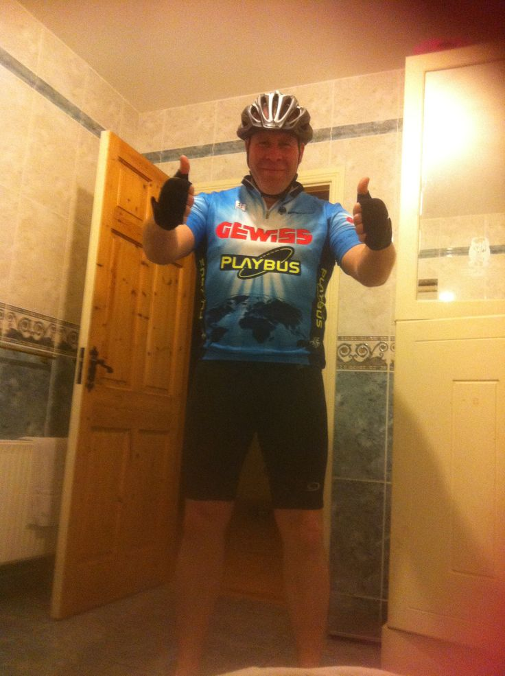 The cyclist!!!'