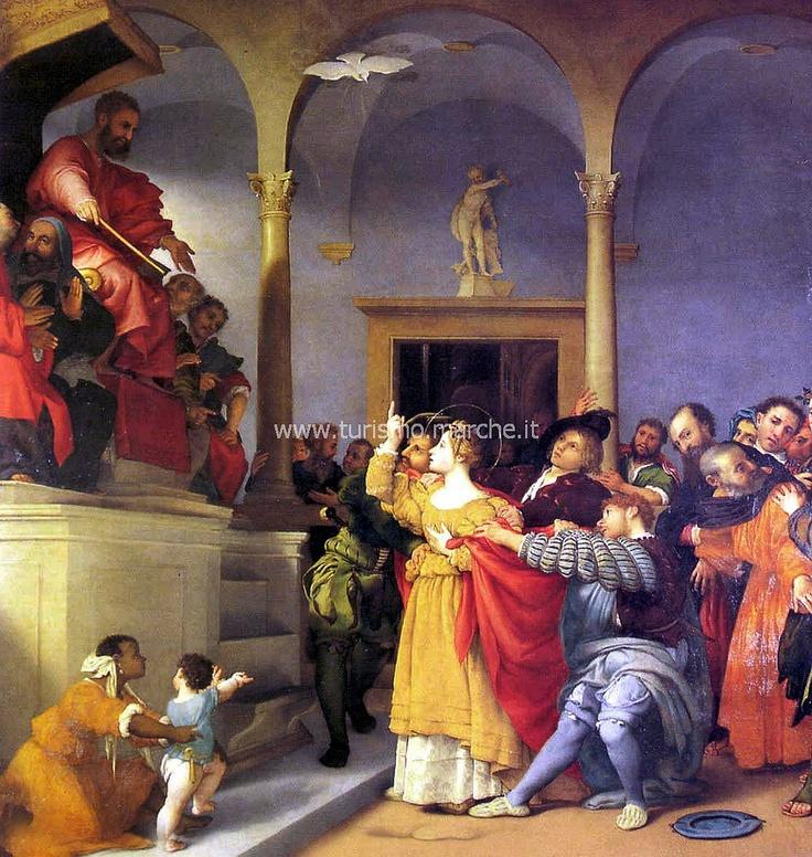 Lorenzo Lotto paint, Marche (20 min)