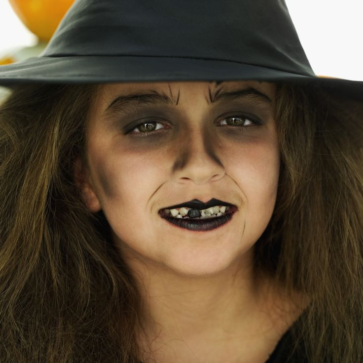 witch face painting ideas | Witches Makeup Ideas