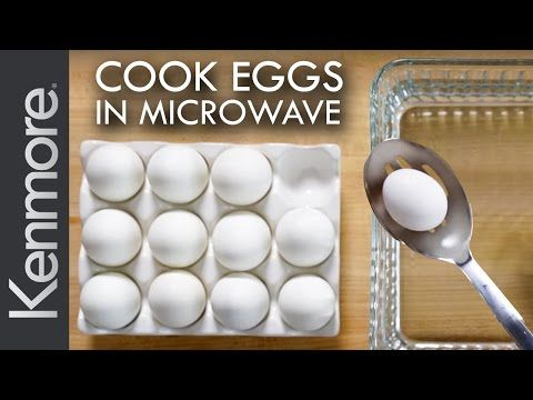 How to Hard Boil Eggs in a Microwave: Easiest Way to Cook Eggs | Kenmore - YouTube